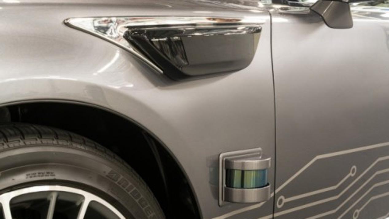 Plataforma de conducción automatizada de Toyota en el Salón CES