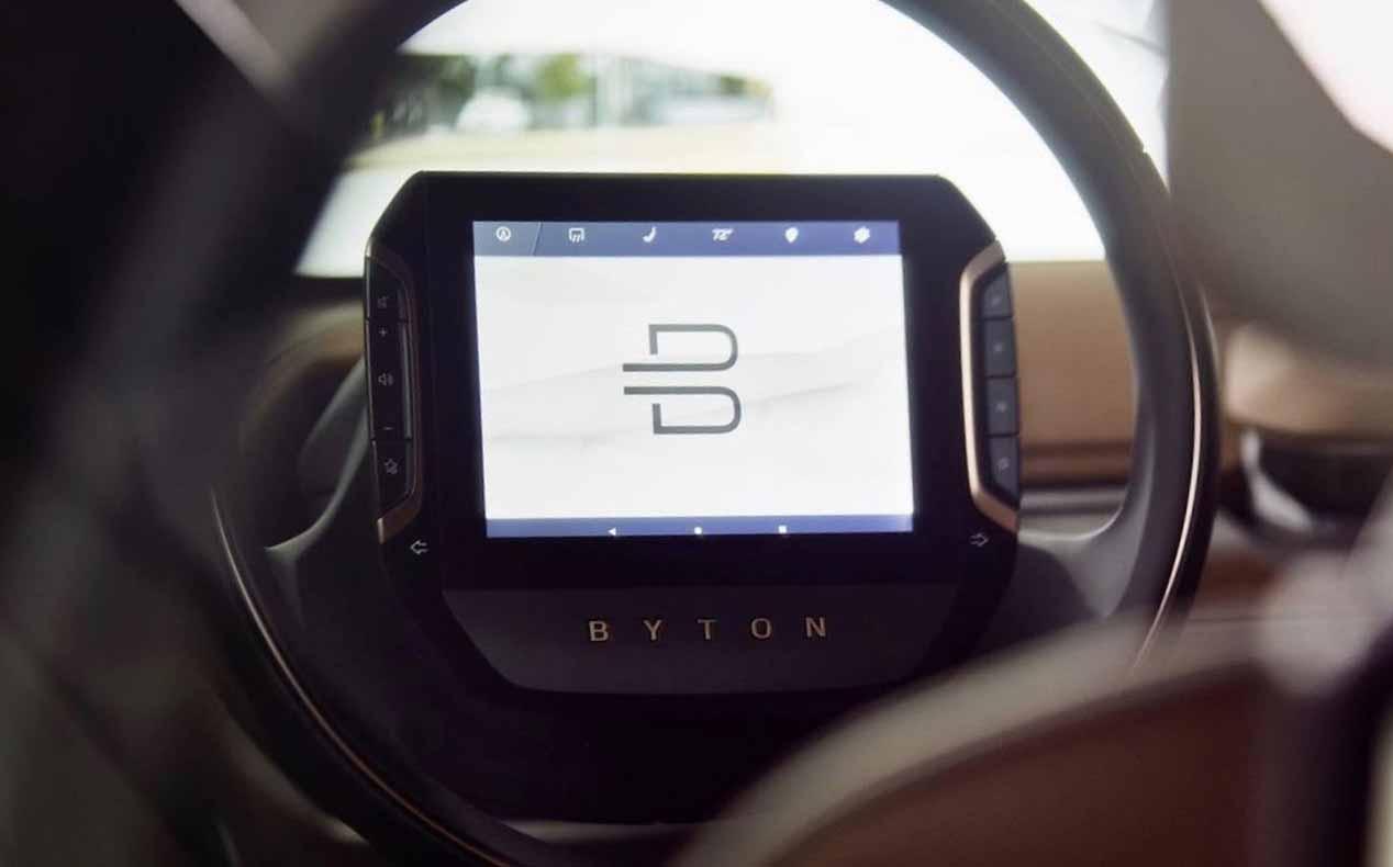 Byton Concept, las imágenes del nuevo SUV eléctrico