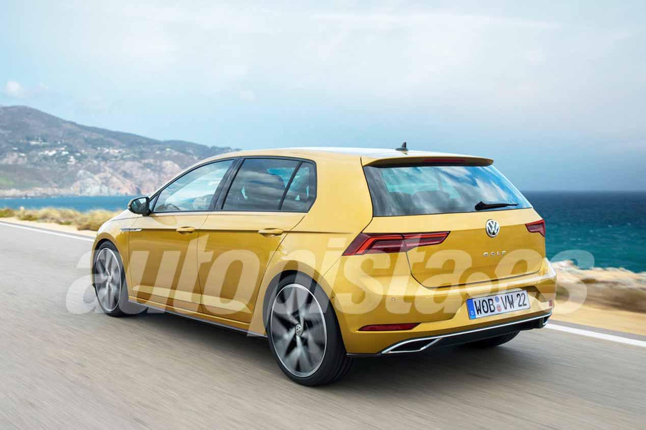 El VW Golf 2019 toma forma: nuevas imágenes