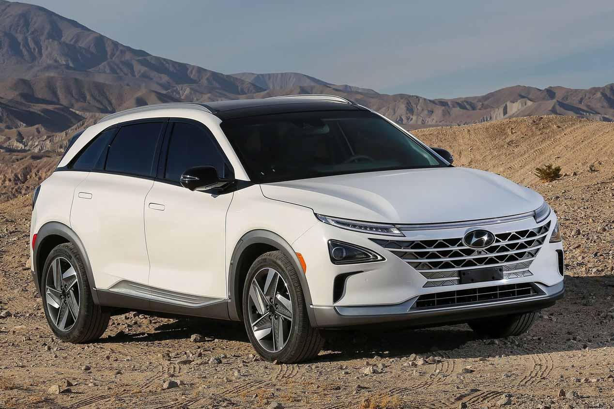 Hyundai Nexo: las fotos del nuevo SUV de hidrógeno