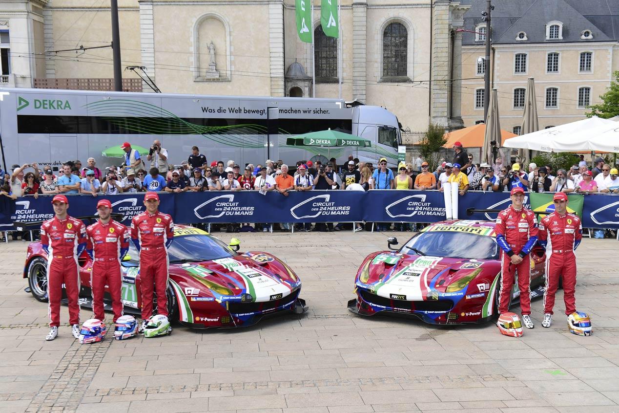 Los pilotos españoles que correrán las 24 Horas de Daytona 2018