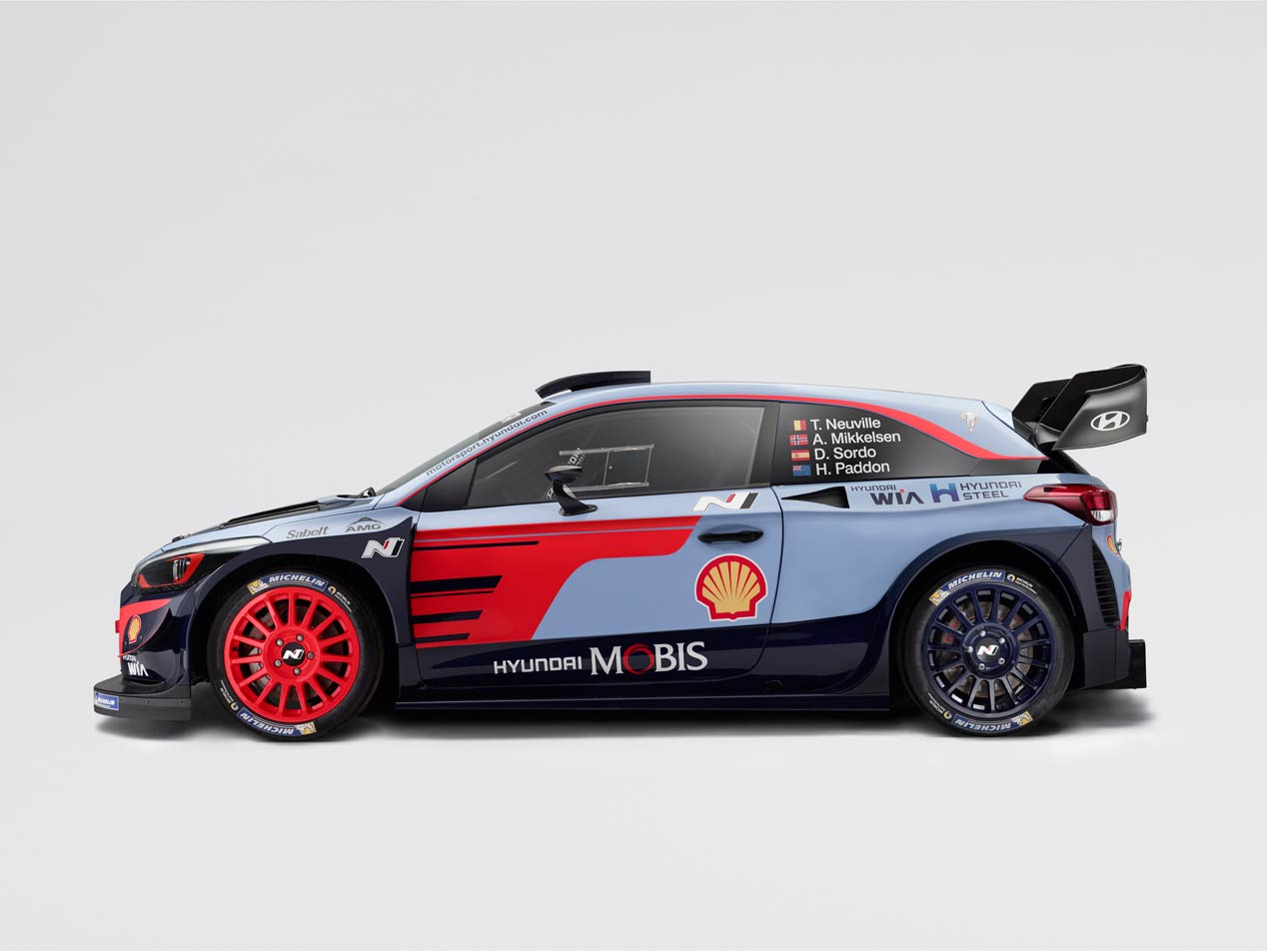 Así es el Hyundai i20 Coupé WRC para el Mundial de Rallyes 2018