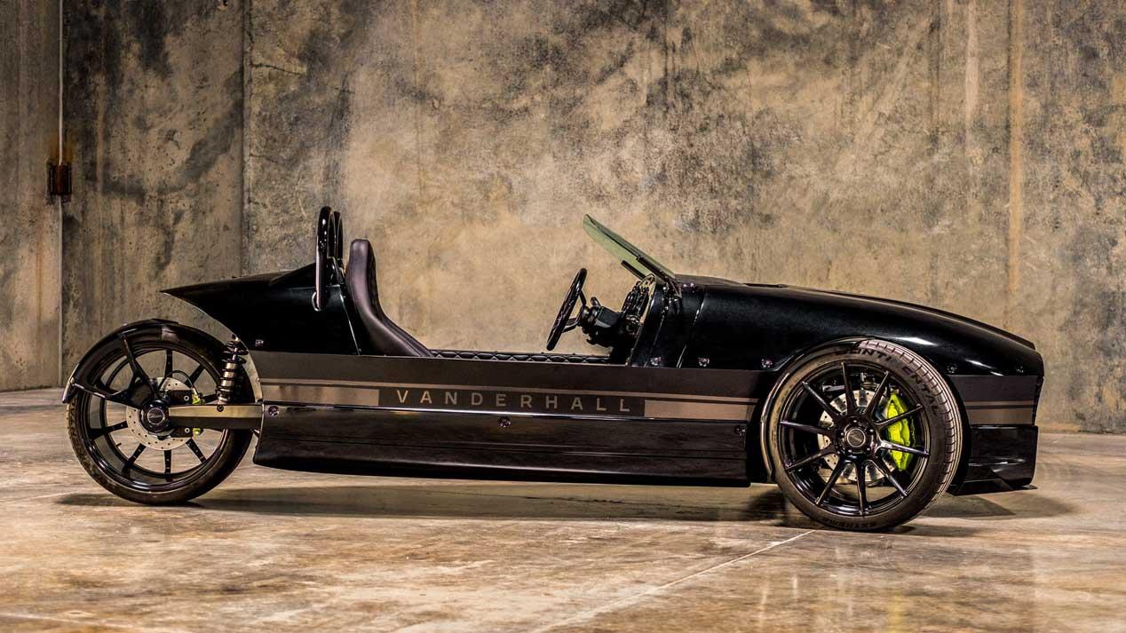 ¿Un eléctrico de tres ruedas? Así es el Vanderhall Edison