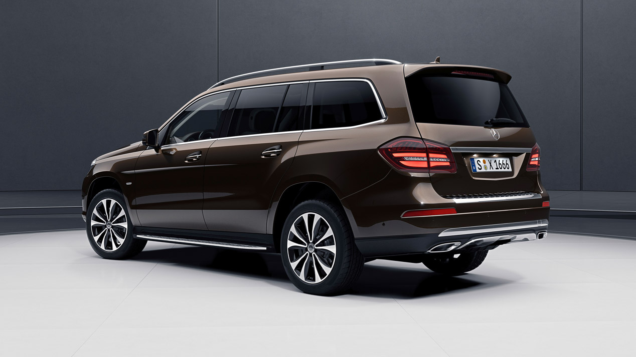 Mercedes GLS Grand Edition, un SUV lujoso y exclusivo