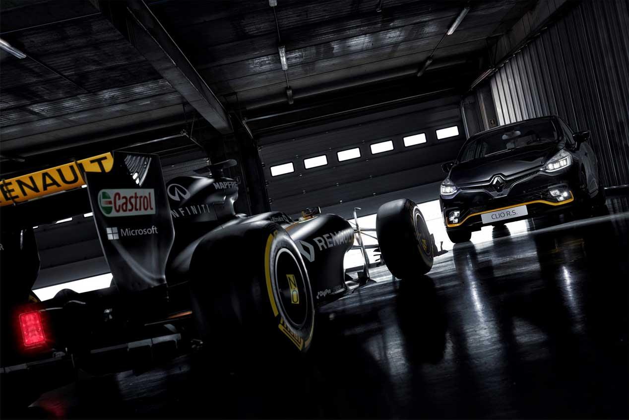 Renault Clio RS 18, homenaje al monoplaza de Fórmula 1