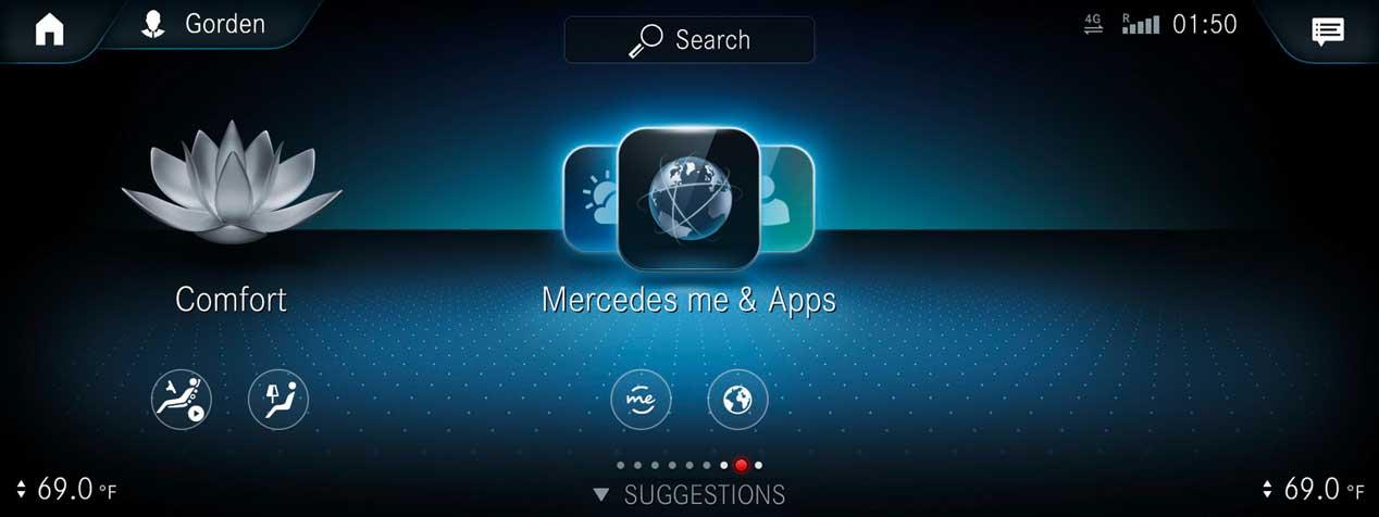 Así es MBUX, el nuevo sistema de infoentretenimiento de Mercedes