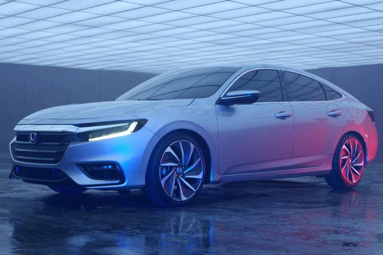 El nuevo coche híbrido Honda Insight Prototype, en imágenes