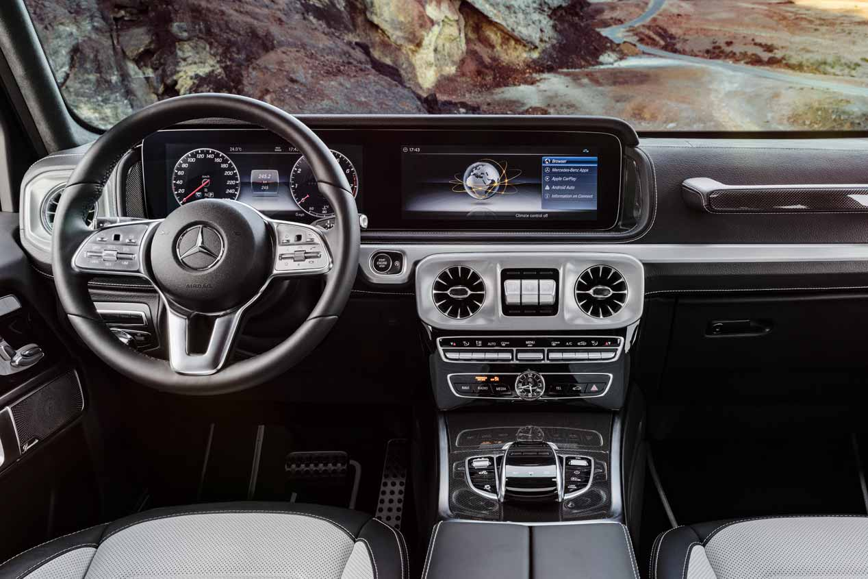 Mercedes Clase G 2018: la nueva generación, en imágenes