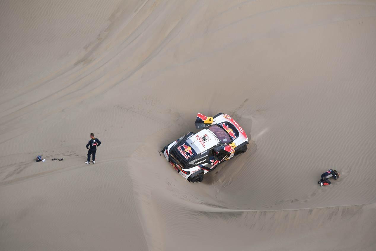 Las mejores fotos de la primera semana del Dakar 2018