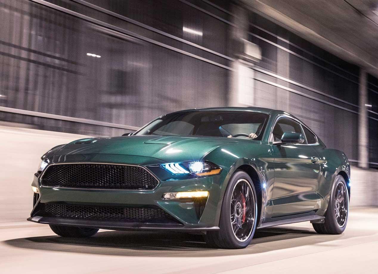 Bullit, un Ford Mustang para homenajear a Steve McQueen