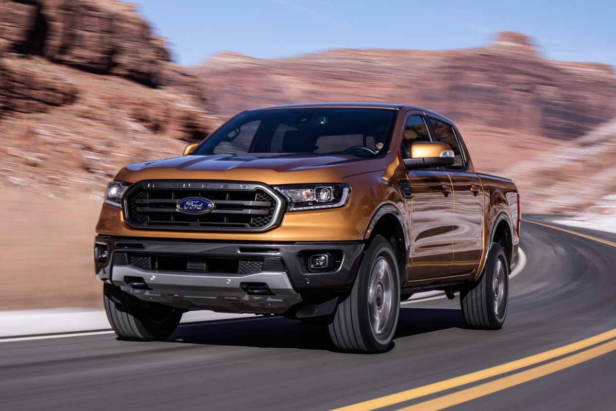 Ford Ranger 2019: las imágenes del nuevo pick-up