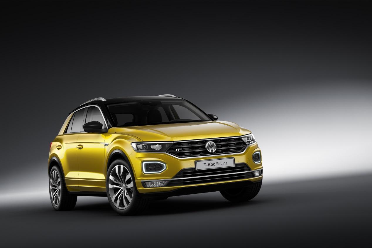 Volkswagen T-Roc: así es en fotos el nuevo SUV