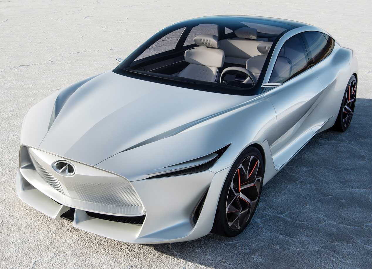 Infiniti Q Inspiration Concept, diseño y motor del futuro