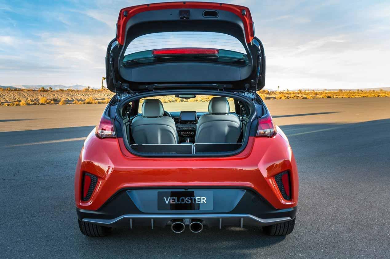 Hyundai Veloster 2019, vuelve el coupé de tres puertas asimétricas