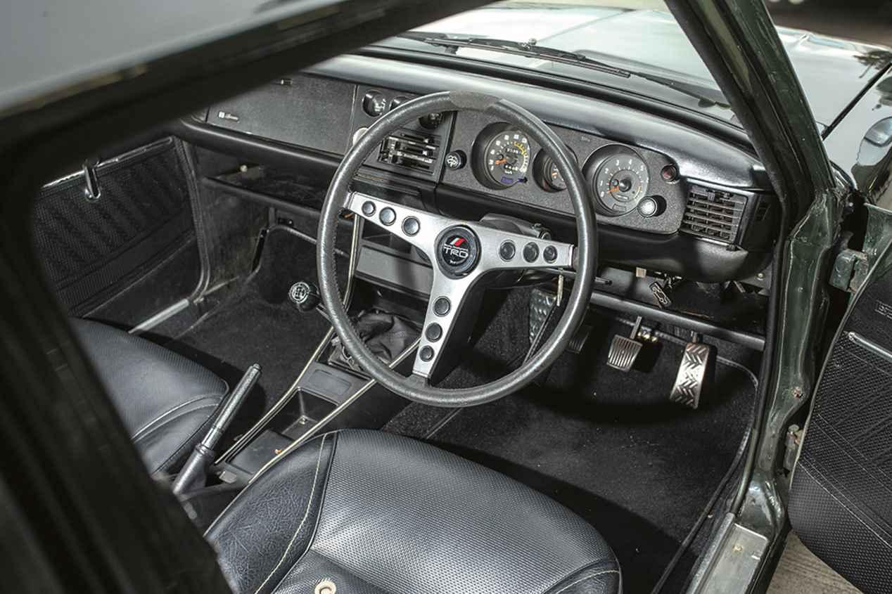 Coches para el recuerdo: Toyota 800 Sport, 2000 GT, Celica GT y Sprinter Trueno