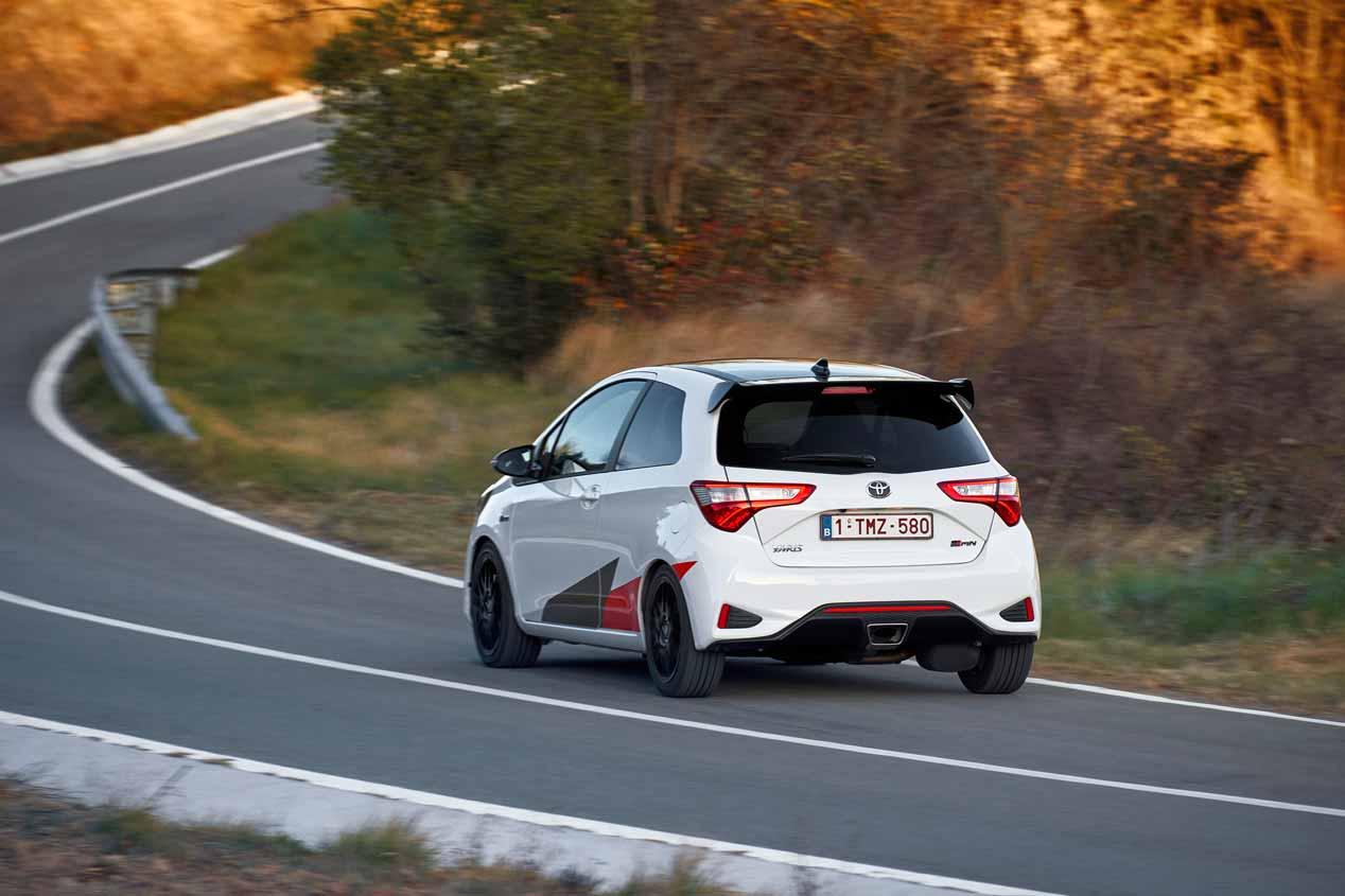 El Toyota Yaris GRMN, a prueba