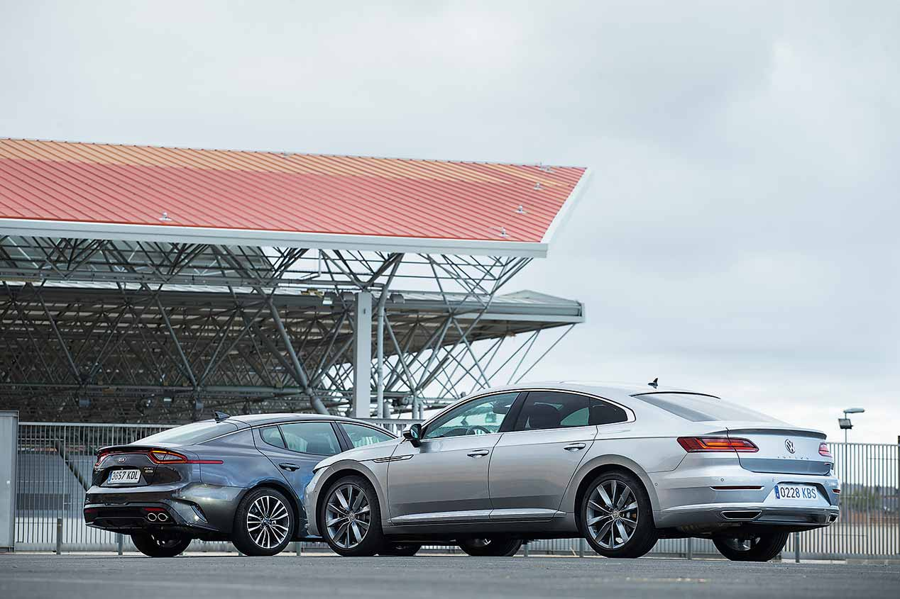 Kia Stinger vs VW Arteon