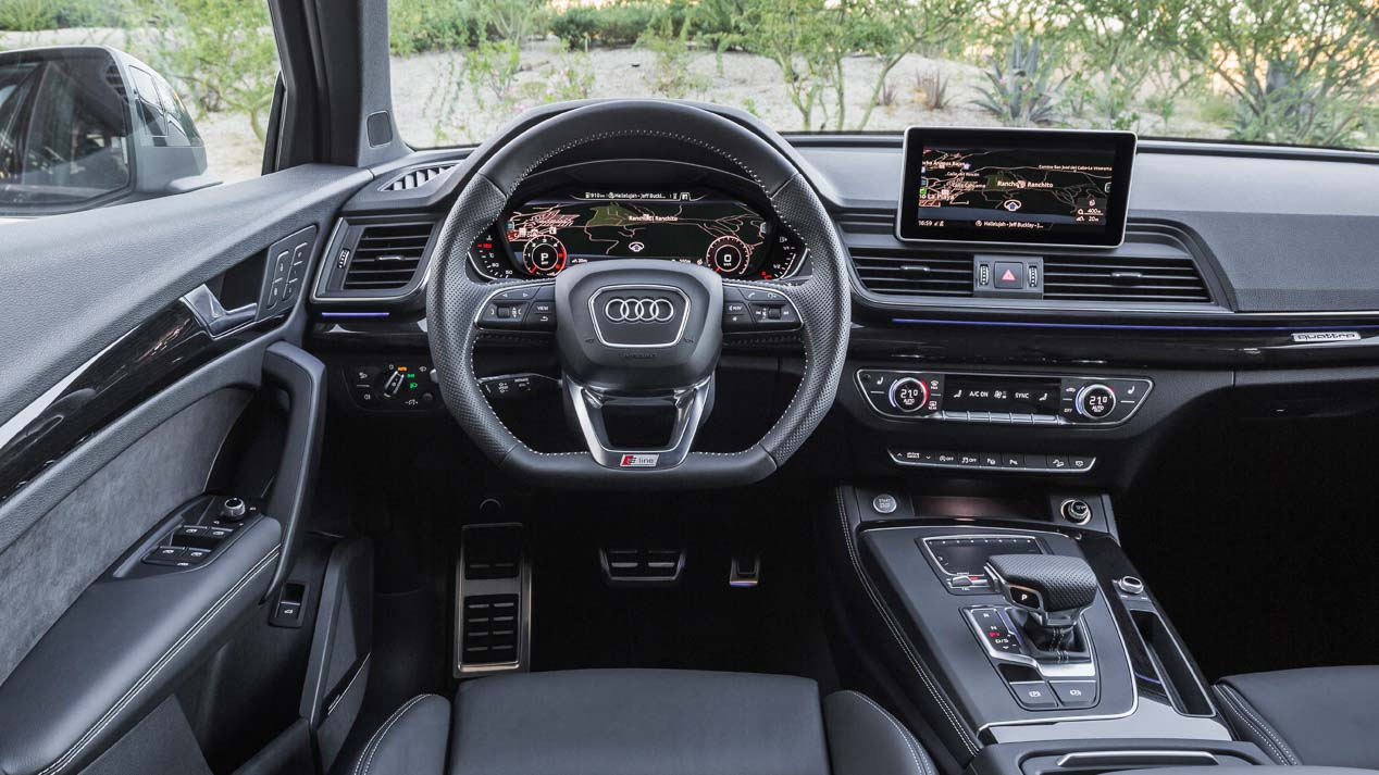 Audi Q3 2018: más fotos del nuevo SUV que llegará en otoño