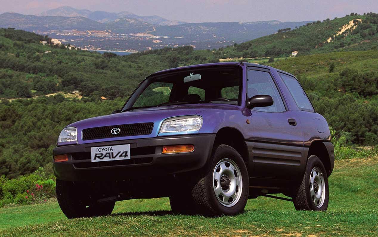 Toyota RAV4, 24 años de historia