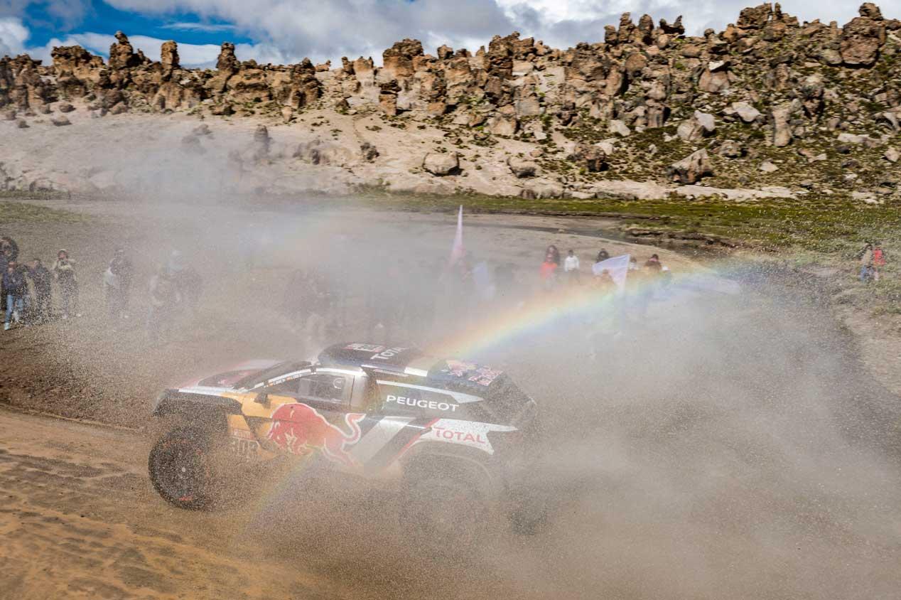 Las mejores fotos del Dakar 2018