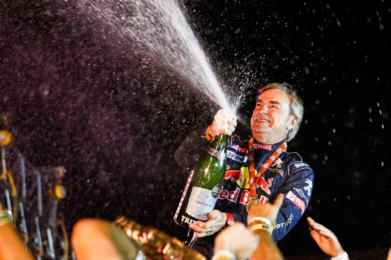 Carlos Sainz, leyenda del deporte español