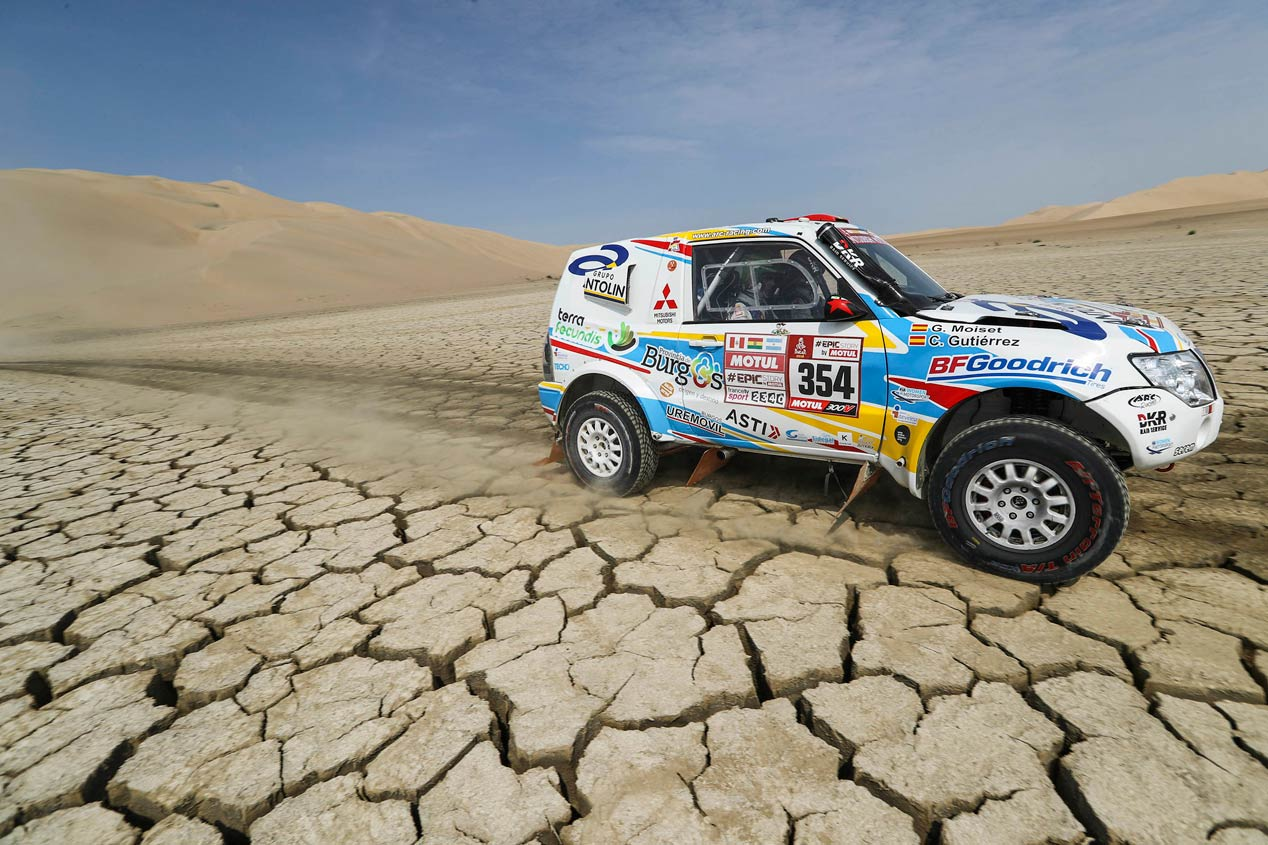 Los pilotos españoles en el Dakar 2018