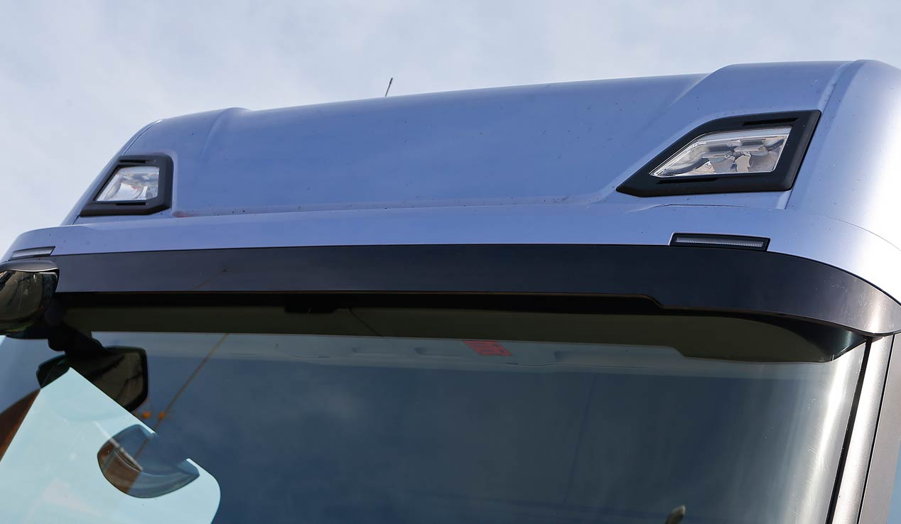 Al volante del Scania S730