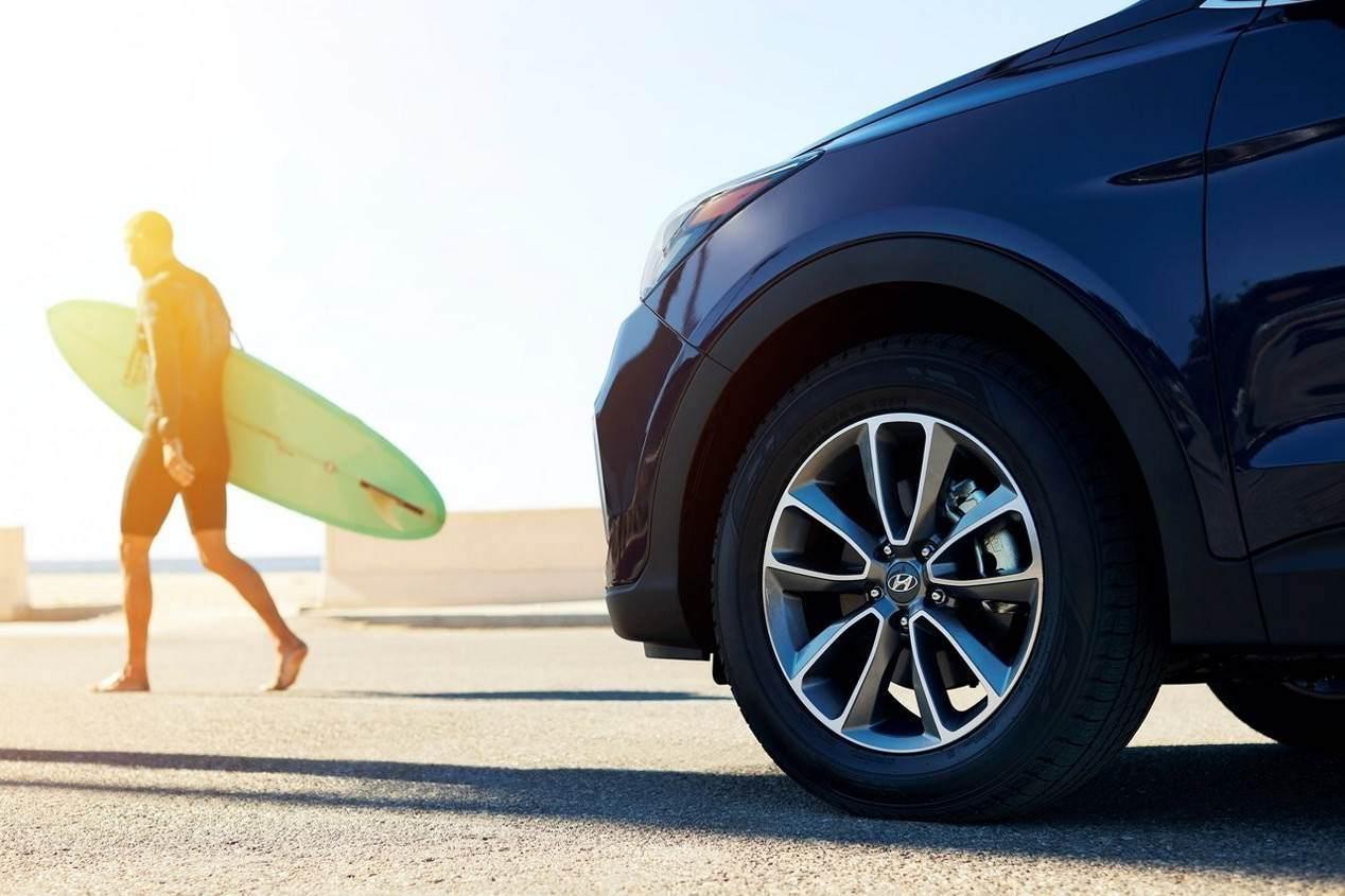 Hyundai Santa Fe 2018: primera fotos oficial y nuevos detalles del SUV