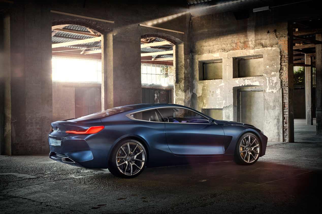 BMW Serie 8 Coupé 2018: nuevas imágenes de todo un súper coche