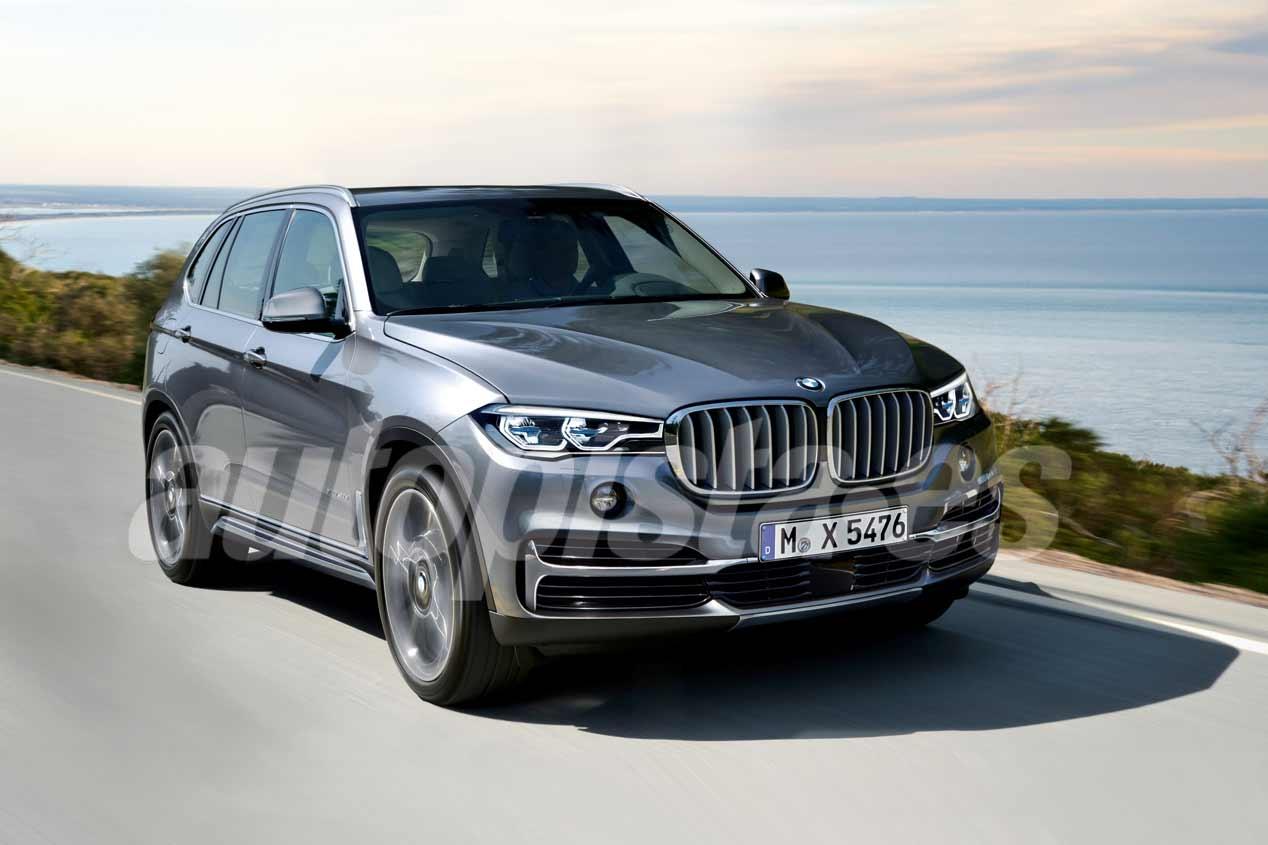 BMW X5 2018: nuevas imágenes del nuevo gran SUV