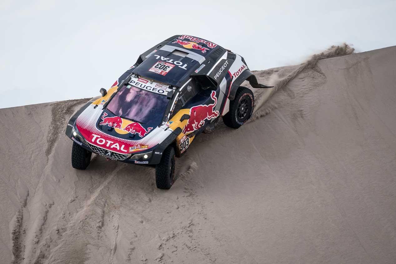 Peugeot 3008 DKR Maxi: así es la bestia ganadora del Dakar 2018