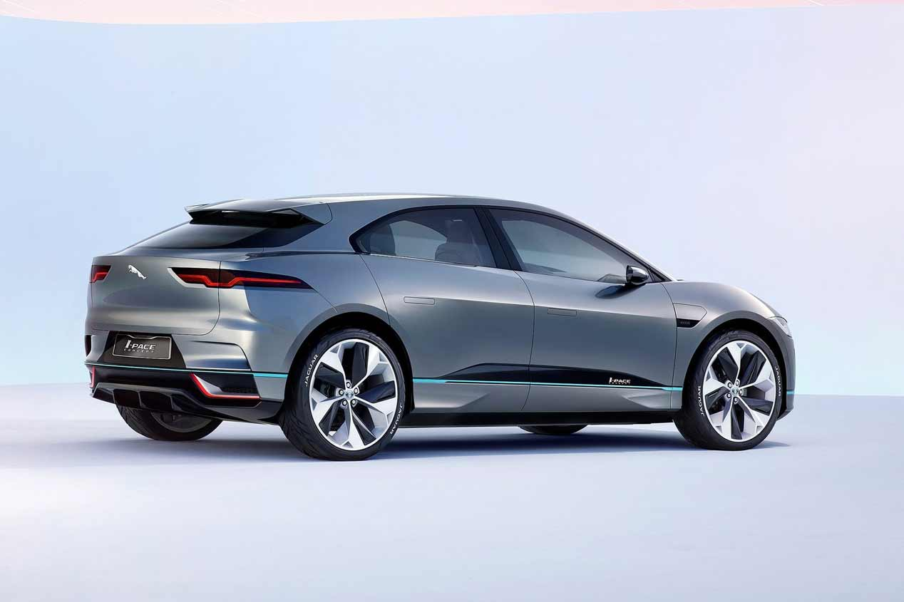 Jaguar I-Pace: el nuevo SUV eléctrico a todo lujo