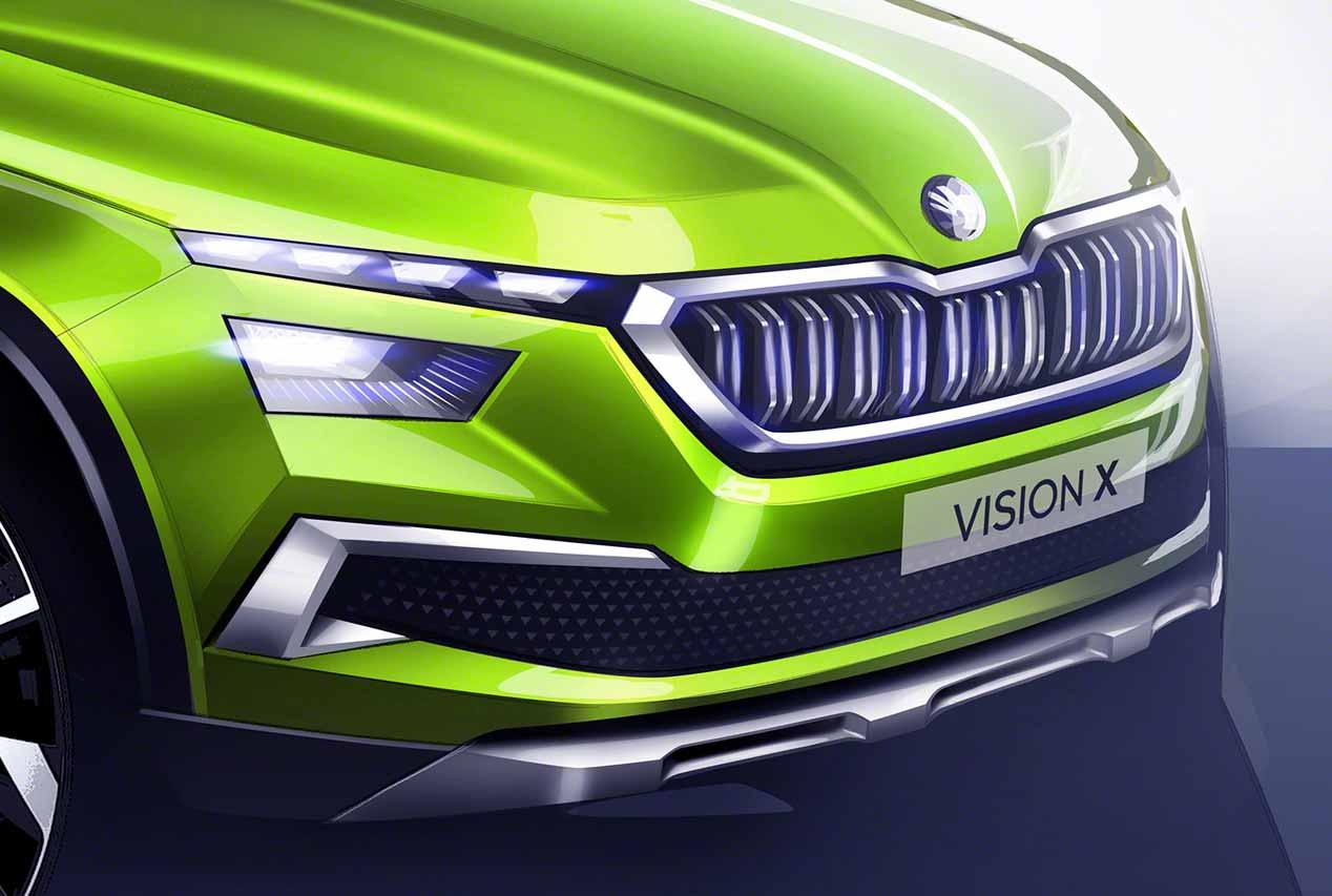 Skoda Vision X: primeras imágenes del nuevo SUV pequeño
