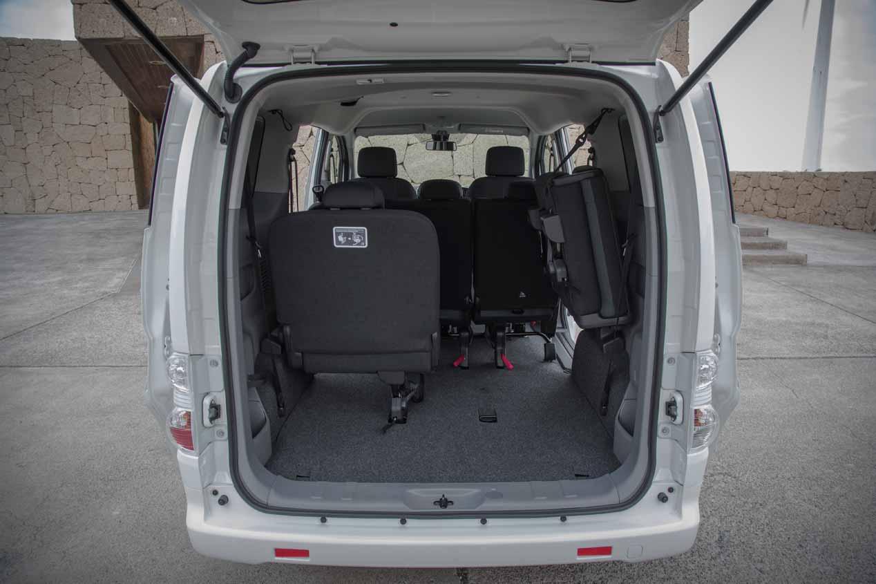 Probamos la furgoneta eléctrica Nissan e-NV200 2018