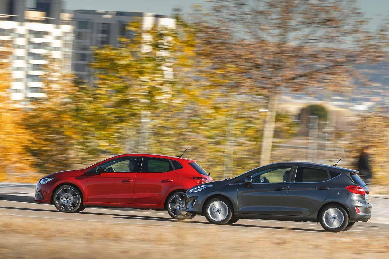 A prueba el Ford Fiesta y el Seat Ibiza Diesel: ¿cuál es mejor?