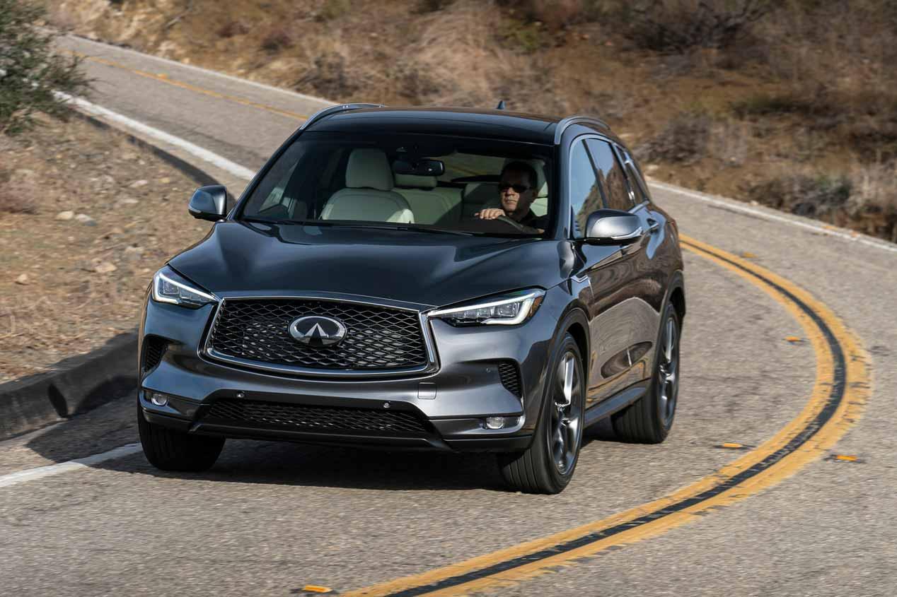 Infiniti QX50 2018: el SUV con motor de gasolina de compresión variable