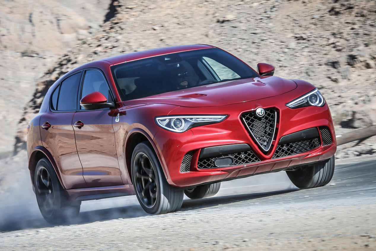 Probamos el Alfa Stelvio Quadrifoglio, un SUV de lo más deportivo