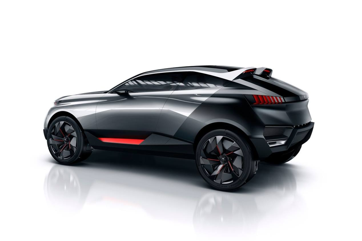 Peugeot SUV coupe