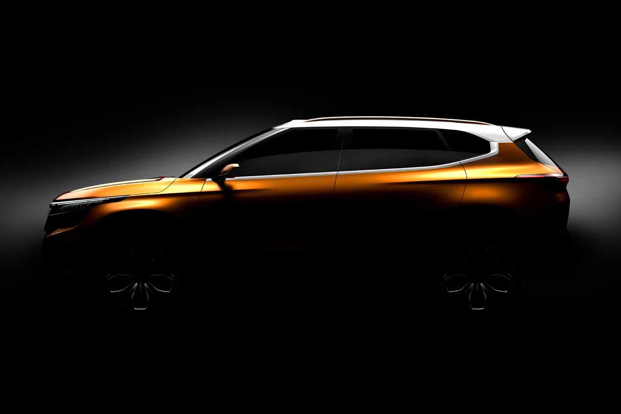 Kia SP Concept: las primeras fotos oficiales del nuevo SUV de bajo coste