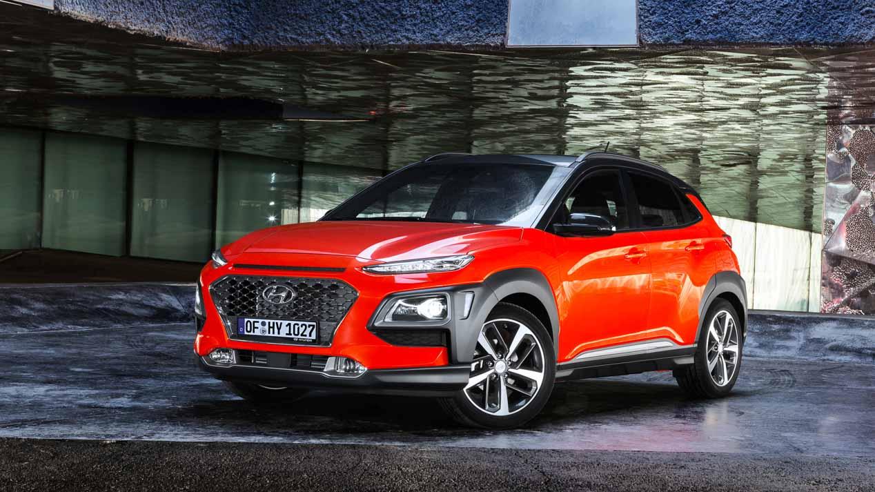 Hyundai Kona EV eléctrico, en el Salón de Ginebra 2018