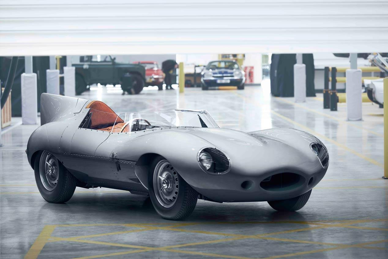 Jaguar resucita el mítico D-Type