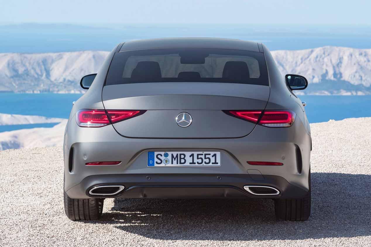 El Mercedes CLS 2018, ya a la venta en España