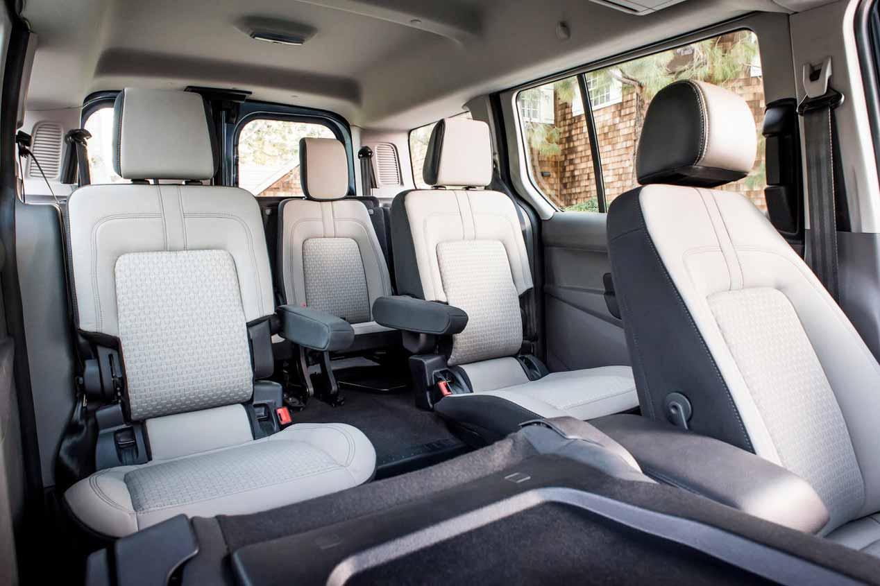 Nueva Ford Transit Connect Wagon, en imágenes