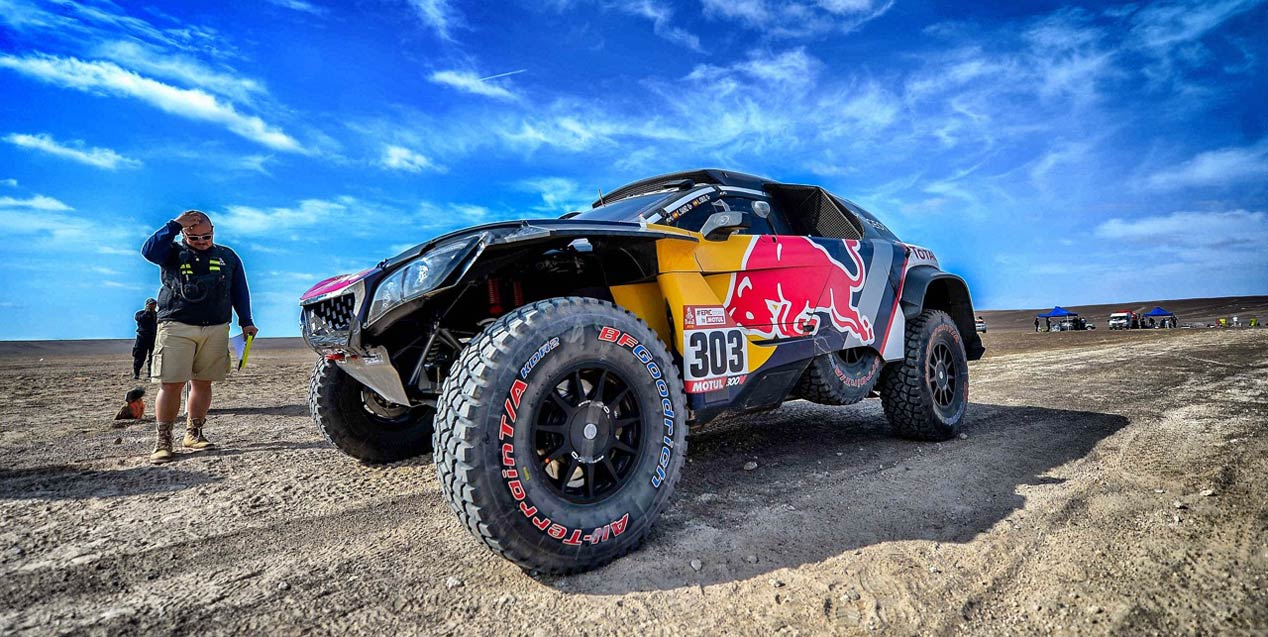 Los neumáticos BFGoodrich, claves en el éxito de Sainz en el Dakar