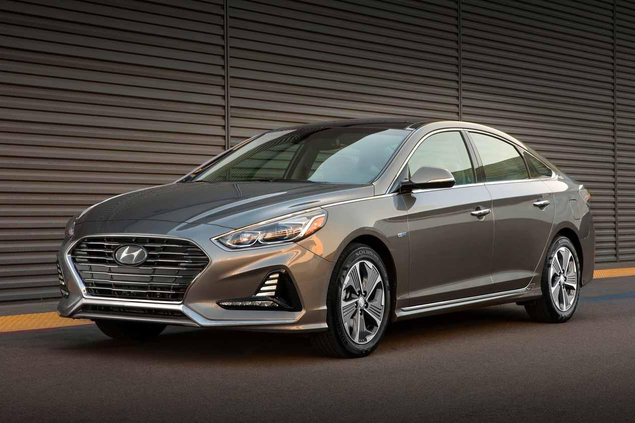 Hyundai Sonata híbrido 2018: imágenes oficiales