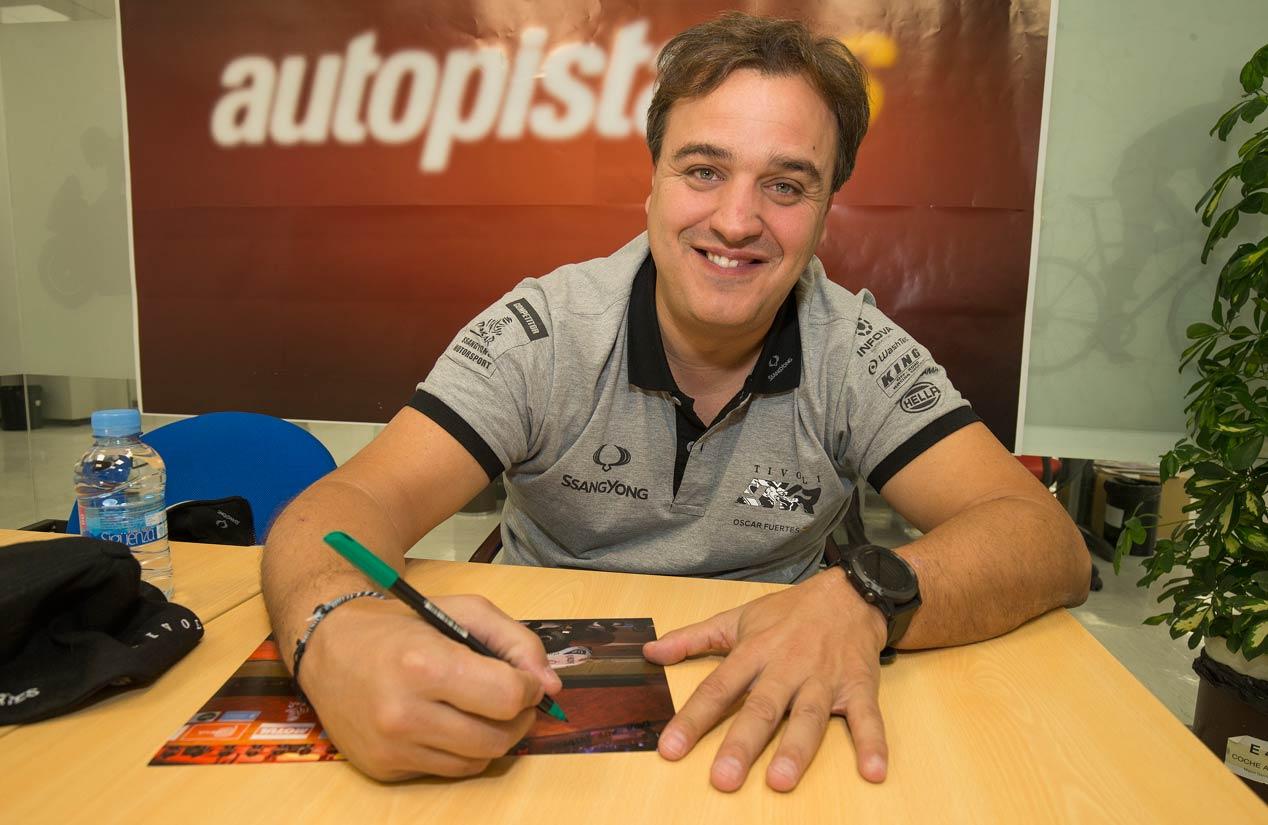 Entrevistamos a Óscar Fuertes, piloto de SsangYong en el Dakar 2018