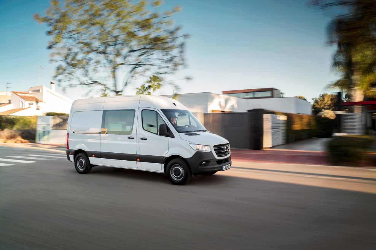 Mercedes Sprinter 2018: sus mejores imágenes