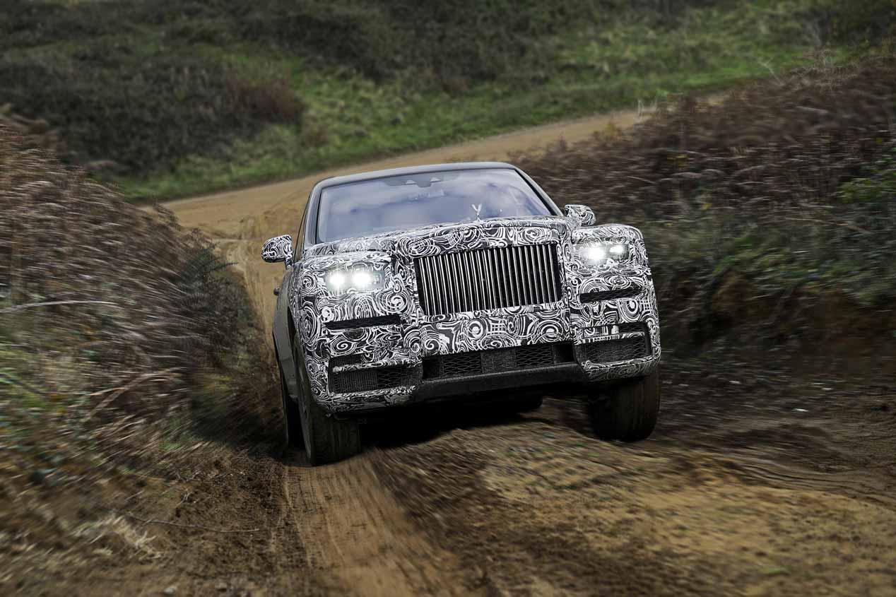 Cullinan, el primer SUV de Rolls-Royce