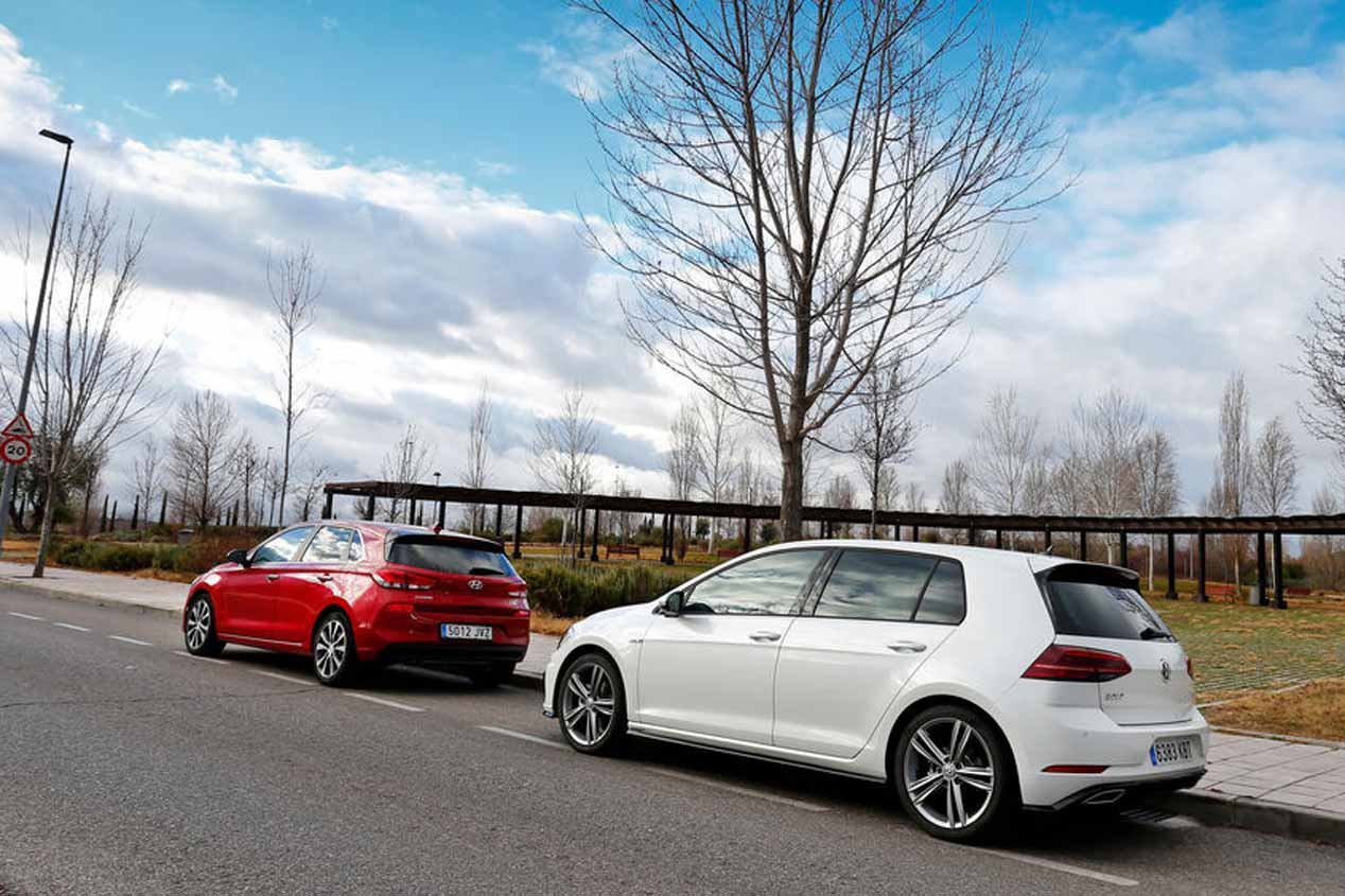 Comparativa de gasolina: VW Golf vs Hyundai i30