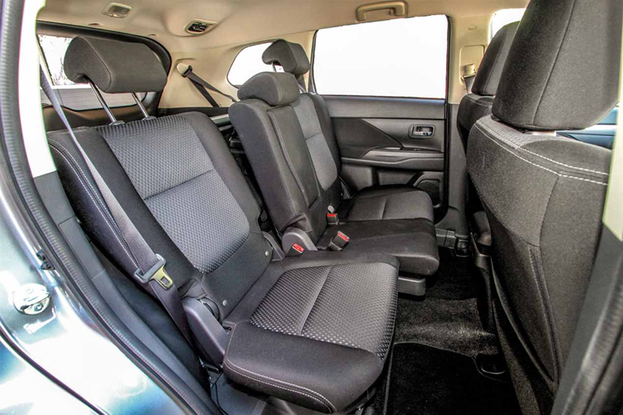 A prueba el Mitsubishi Outlander de gasolina de 150 CV